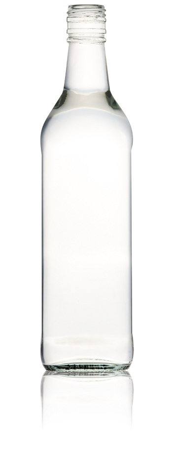 700ml Round Glass Spirit Bottles (box 12)