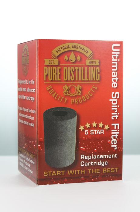 Pure Distilling 5 star Carbon Cartridge