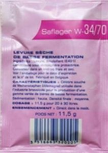 Saflager W-34/70 Lager Yeast