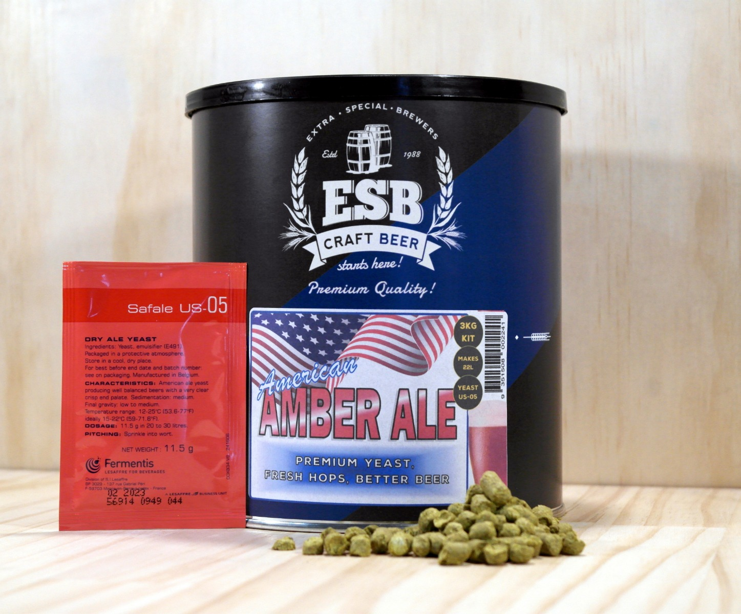 ESB 3kg American Amber Ale
