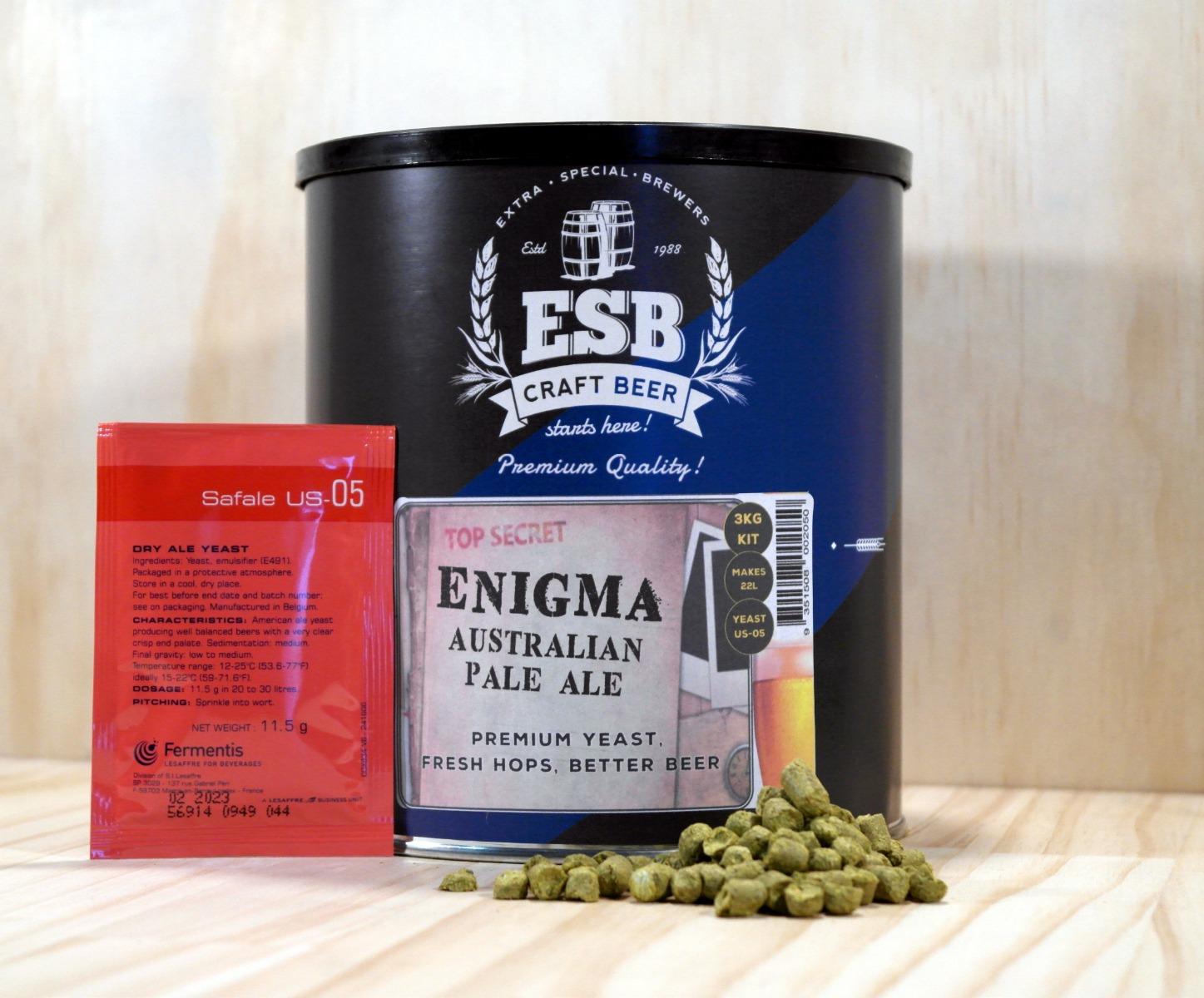 ESB 3kg Enigma Pale Ale