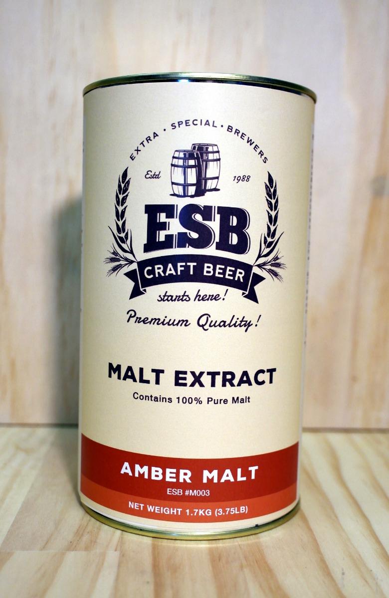 ESB 1.7kg Amber Malt Extract