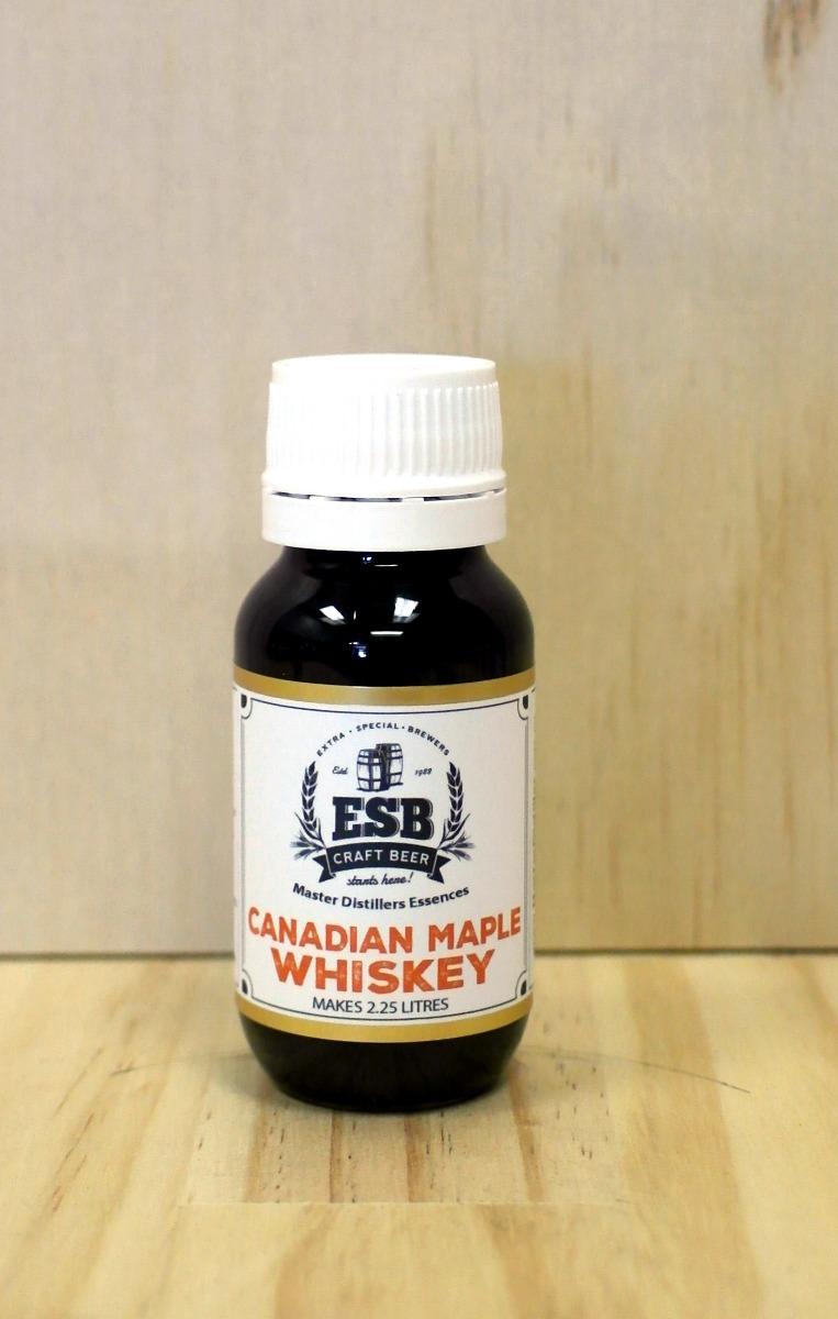 ESB Master Distillers Essences - Canadian Maple Whiskey