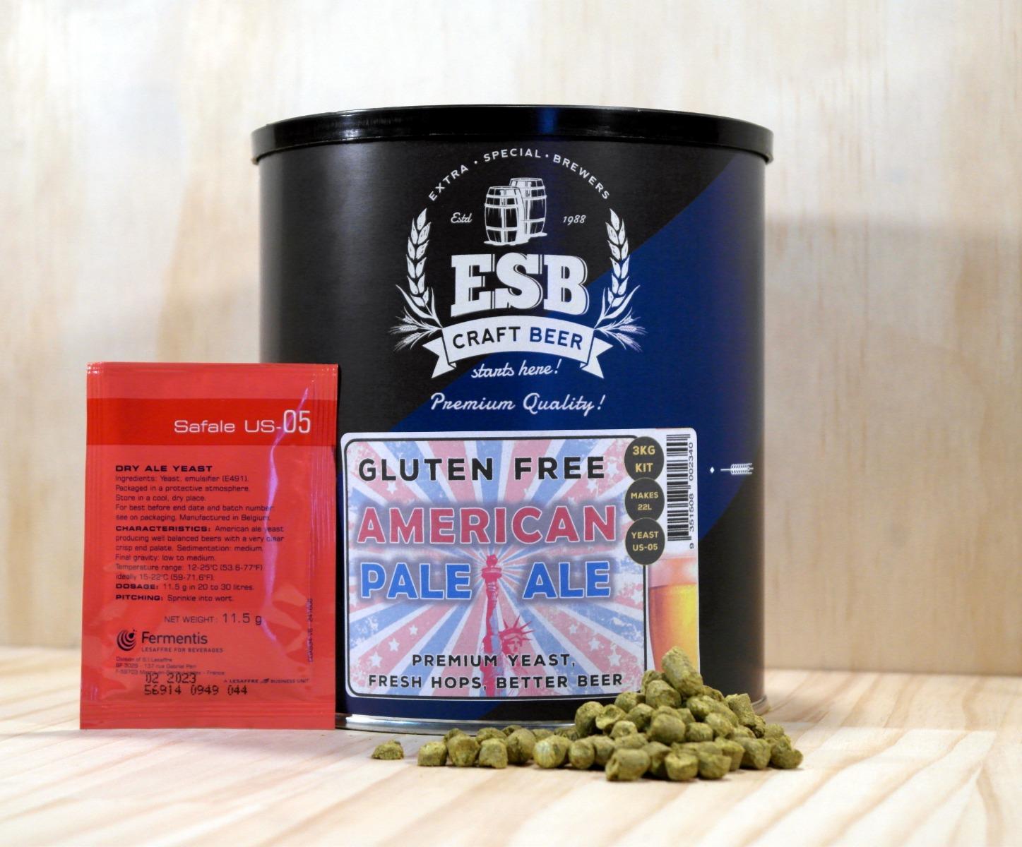 ESB 3kg Gluten Free American Pale Ale