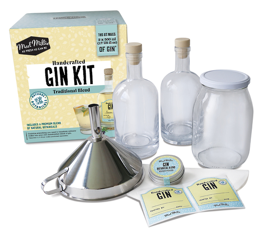 Handcrafted Gin Kit Traditional Blend