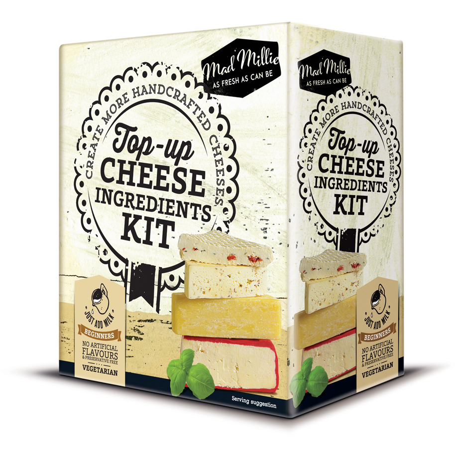 Mad Millie Top Up Cheese Ingredients Kit