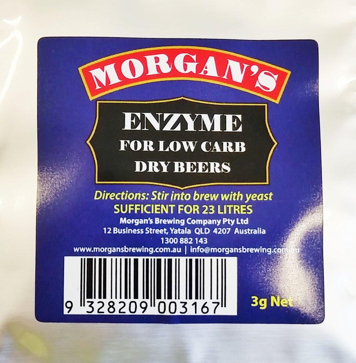Morgan's Low Carb Enzyme