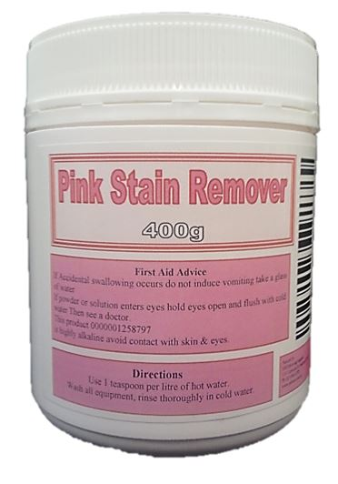 Pink Stain Remover 400g Jar