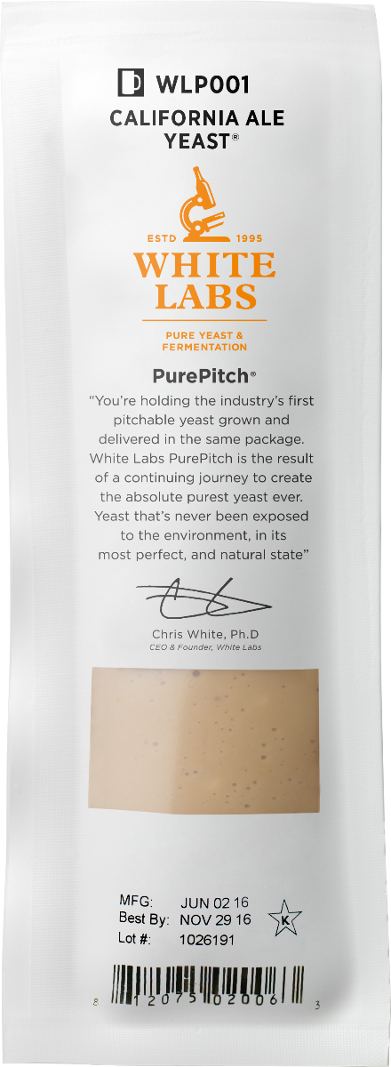 White Labs WLP540 Abbey IV Ale Yeast